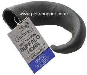 Buffalo Horn Dog Treat Standard