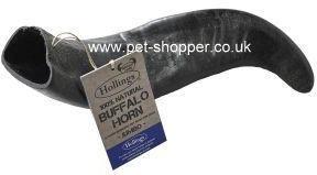 Buffalo Horn Dog Treat Jumbo