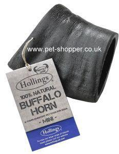 Buffalo Horn Dog Treat Mini