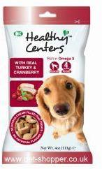 M and C Healthy Centres Turkey & Cranberry Dog Treats 113g