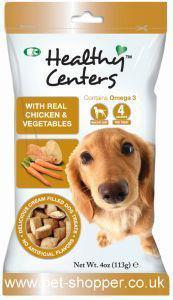 M and C Healthy Centres Chicken & Vegetable Dog Treats 113g