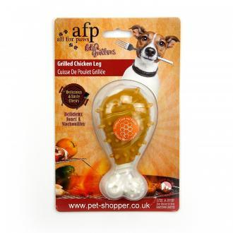 All For Paws Chicken Leg Dog Toy