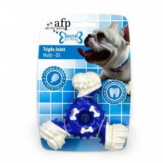 All For Paws Triple Joint Dog Toy Blue