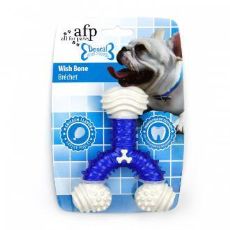 All For Paws Dental Wish Bone Dog Toy