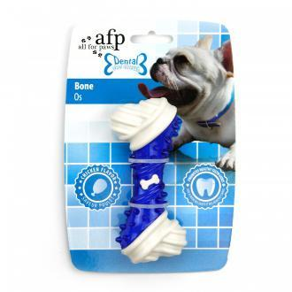 All For Paws Dental Bone Dog Toy Blue