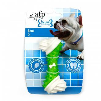 All For Paws Dental Bone Dog Toy Green