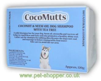 CocoMutts Coconut & Neem Oil Natural Dog Shampoo Bar