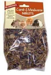 Mr Johnsons Carob and Mealworm Niblets