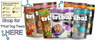 Tribal dog treat range