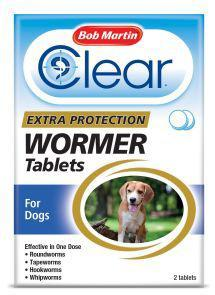 BM Clear 3 in 1 Dewormer For Dogs 2 Tabs