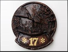 Cottage House Number Sign