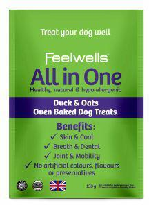 Feelwells Benefits All in One Healthy Dog Treats 130g