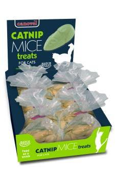 Canoval Yoghurt And Catnip Mice Cat Treat
