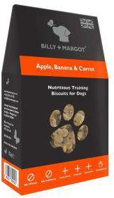 Billy And Margot Apple Banana Carrot Training Biscuits 125g