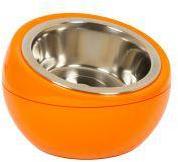 Hing Dome Dog Bowl Orange
