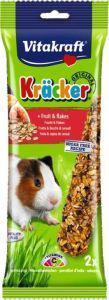 Vitakraft Guinea Pig Fruit Sticks 2 pack