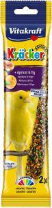Vitakraft Canary Apricot and Fig Sticks 2 pack