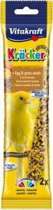 Vitakraft Canary Egg and Grass Seeds Sticks 2 pack
