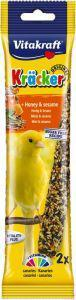 Vitakraft Canary Honey and Sesame Sticks 2pk