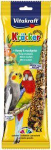Vitakraft Honey & Eukalyptus Cockatiel Sticks 2 pack