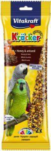 Vitakraft Parrot Honey and Anise Sticks 2 pack
