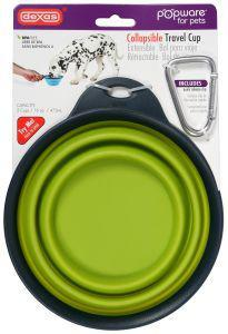 Popware Collapsible Travel Cup with Bottle Holder Green Large