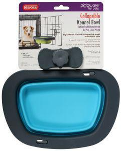 Dexas Popware Collapsible Kennel Bowl Blue Large