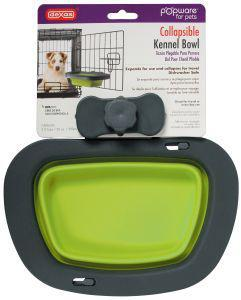 Dexas Popware Collapsible Kennel Bowl Green Large