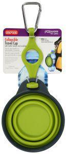 Dexas Popware Collapsible Travel Cup with Bottle Holder Green