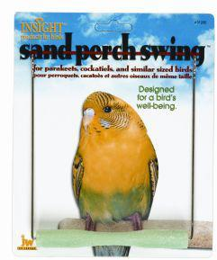 Sand Perch Budgie Swing