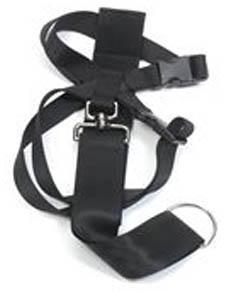 Ancol Nylon Dog Car Harness Black Medium