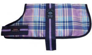 Outhwaite Waterproof Dog Coats Padded Lining Lilac 35cm