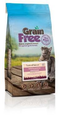 Taste of Nature Grain Free Cat Food Salmon 2kg