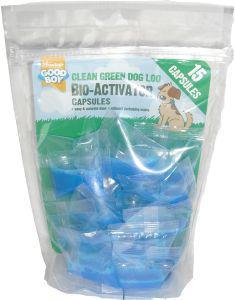 Good Boy Bio Activator for Dog Loos 15 Capsules