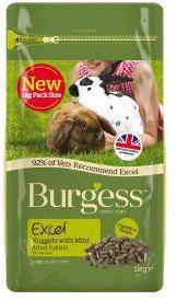 Burgess Excel Adult Rabbit Nature's Blend 1.5kg