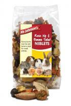 Rosehip Banana Salad Niblets 125g from Mr Johnsons