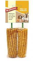 Mr Johnsons Sweet Corn Maize Cob Niblets Treats 2 pack