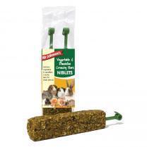 Mr Johnsons Vegetable and Dandelion Crunchy Niblets Bar 2 pack