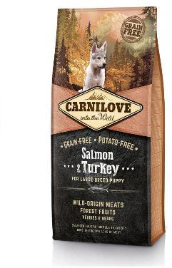 Carnilove Salmon & Turkey Large Breed Puppy Food 1.5kg