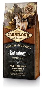 Carnilove Reindeer Adult Dog Food 1.5kg