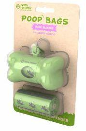 Earth Friendly Poop Dispenser with 36 Lavender Bags