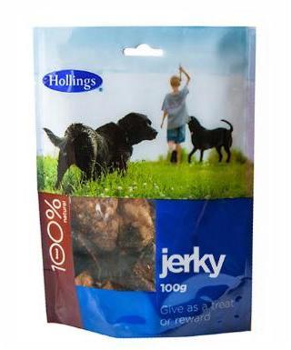 Hollings Puffed Jerky Dog Treats 100g