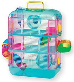 Penthouse 3 Hamster Cage 40x26x53cm
