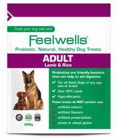 Feelwells Probiotic Adult Dog Treats