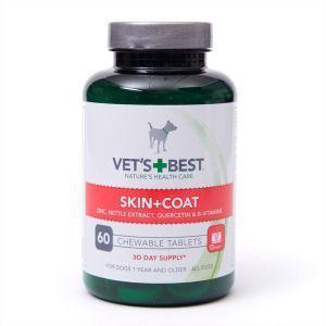 Vets Best Skin & Coat Tablets (60Tabs)