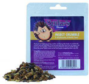Spikes Hedgehog Insect Crumble 100g