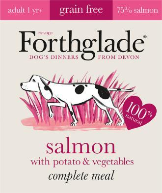 Forthglade Adult Salmon with Potato & Veg Grain Free 395g 7 pack