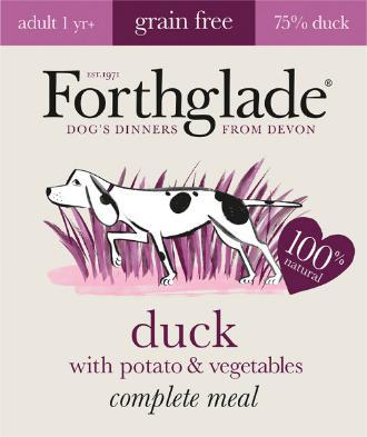 Forthglade Lifestage Duck and Potato 395g 18 pack