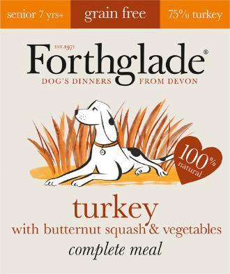 Forthglade Lifestage Grain Free Senior Dog Food 395g 7 pack