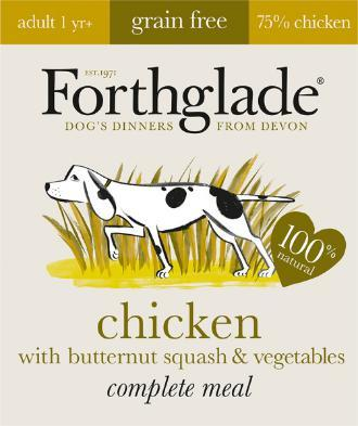 Forthglade Chicken with Butternut Squash & Veg Grain Free 395g 7 pack